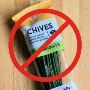 No chives